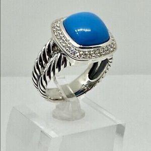 David Yurman 11mm Turquoise Albion Ring